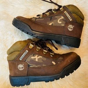 Timberland toddler boots 13 size
